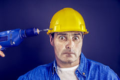 工作事故 免版税库存照片