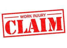 工作伤害要求 向量例证