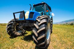 工作农场 免版税库存图片