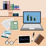 工作办公室室 免版税图库摄影