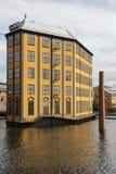 工作博物馆。工业风景。诺尔雪平。瑞典 库存照片