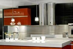 工作台面厨房 库存照片