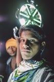工作在婚礼的印地安孩子 免版税库存图片