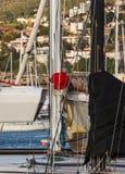 工作在风船树的意大利水手  库存图片