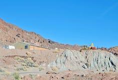 工作场所:铜矿 免版税图库摄影