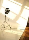 工作室照明设备 库存照片