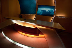 工作室电视 免版税图库摄影