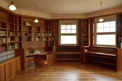 工作室看法Haus Hohe Pappeln历史建筑的在威玛 库存图片