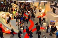 工作市场bienal德国11月20,21 2013年 免版税库存图片