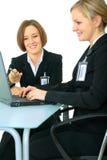 工作年轻人的一起企业妇女 库存图片