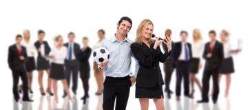 工作情况企业另外人员 免版税库存照片