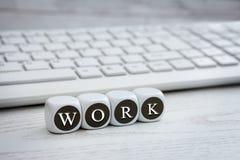工作是根本的 免版税库存图片