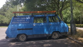 工作汽车 免版税图库摄影