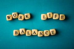 工作生活平衡,企业工作生活概念 库存图片