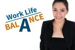 工作生活平衡 库存照片