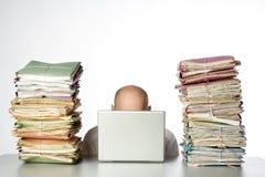 工作的  免版税库存图片