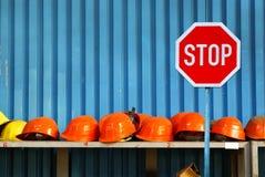 工作罢工-失业 免版税图库摄影
