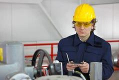 工作者控制设备 免版税图库摄影
