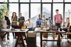 工作者队企业公司工友概念 库存照片