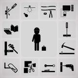 工具和技术员 库存图片