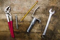 工具和零件 库存照片