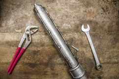 工具和零件 图库摄影