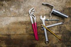 工具和零件 库存图片