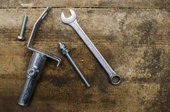 工具和零件 免版税图库摄影