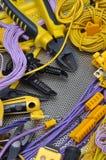 工具和组分电子设施的 库存照片
