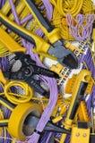工具和组分电子设施的 库存图片