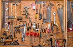 工具墙壁 免版税库存图片