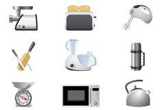 工具家庭厨房 向量例证