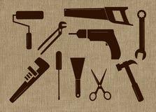 工具形状 图库摄影