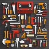 工具箱子 库存例证