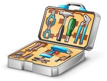 工具箱工具 库存照片
