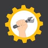 工具设计 库存例证