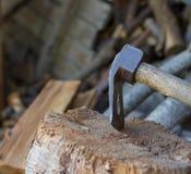 工具锛子 库存照片