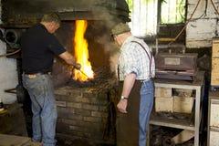 工匠在工作 免版税库存图片