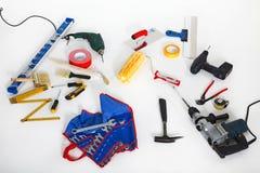 工匠的设备 免版税库存照片