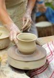 工匠陶瓷工 免版税库存图片