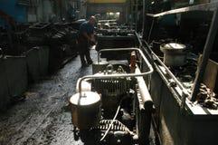 工厂劳工 免版税库存照片