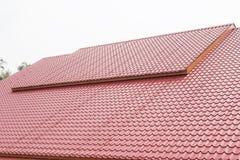 工厂厂房和建筑的金属板 免版税库存图片