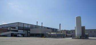 工厂厂房 库存照片