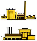 工厂向量 免版税图库摄影