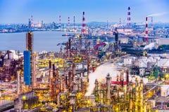 工厂在日本 免版税图库摄影