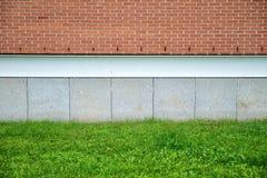 工厂墙壁 免版税库存照片