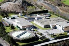 工厂处理水 免版税图库摄影