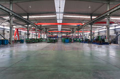 工厂工厂讨论会 免版税库存图片