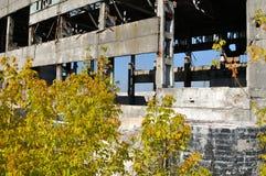 工厂废墟 库存照片