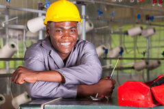 工厂技术人员 免版税库存图片